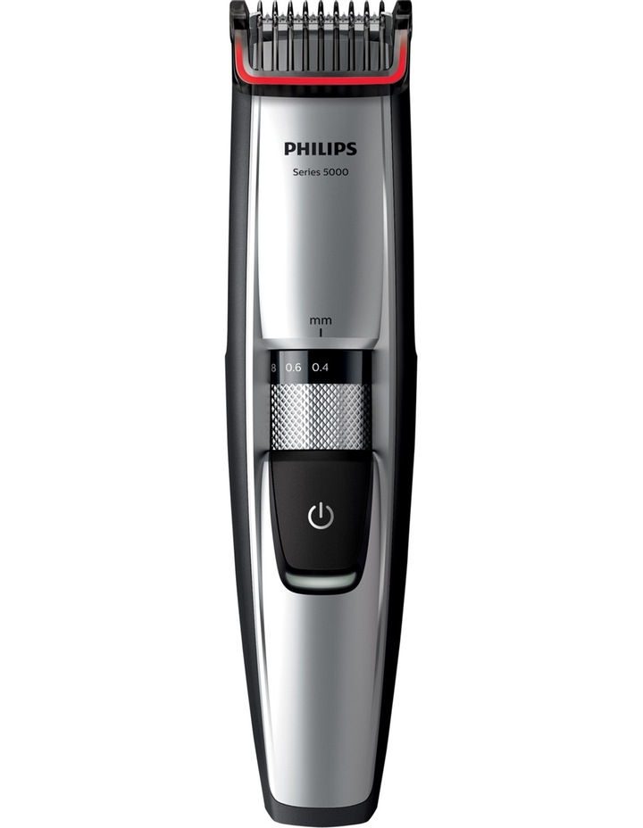 Series 5000 Beard & Stubble Trimmer Silver/Black BT5205 image 1