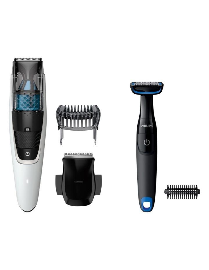 Philips Vacuum Beard Trimmer Groomer Pack Bt7204 85 Myer
