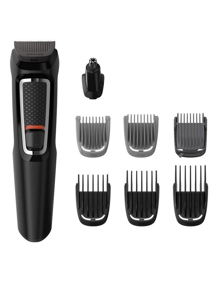 Multigroom Series 3000 8-in-1 Face & Hair Trimmer: Black MG3730/15 image 1