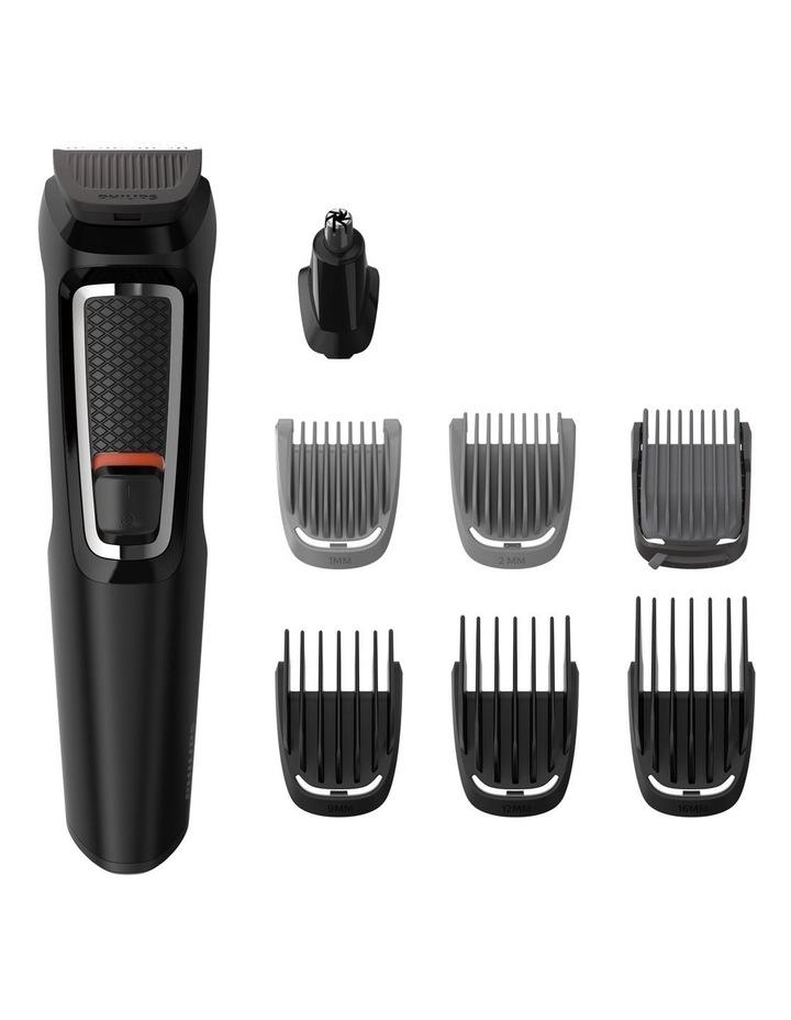 Series 3000 8-in-1 Face & Hair Multigroom  Trimmer Black MG3730/15 image 2