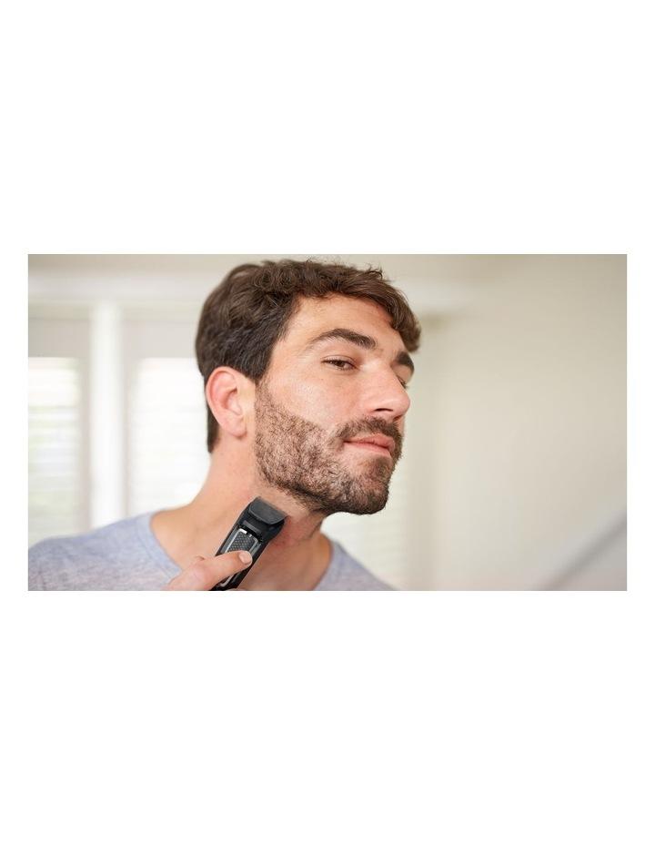 Series 3000 8-in-1 Face & Hair Multigroom  Trimmer Black MG3730/15 image 3