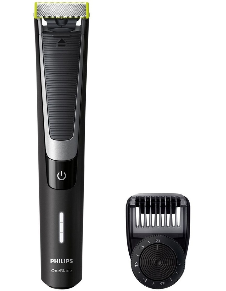 One Blade Pro Handle with Adjustable Comb Black QP6510/20 image 1