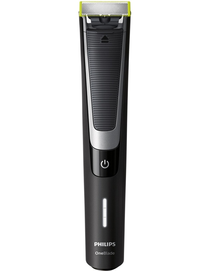 One Blade Pro Handle with Adjustable Comb - Black QP6510/20 image 2