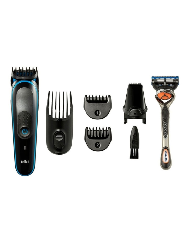 Face & Head 7-in-1 Trimming Kit Black/Blue MGK3045 image 3