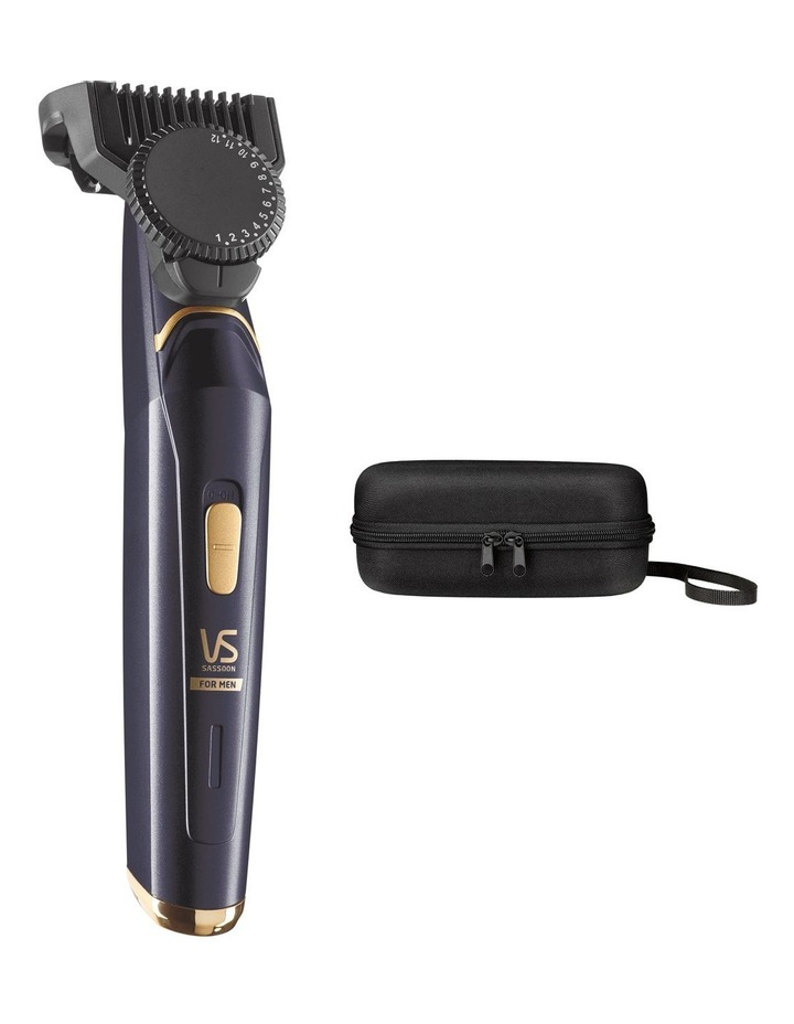 The XPERT Beard Trimmer in Blue/Gold VSM7865A image 2
