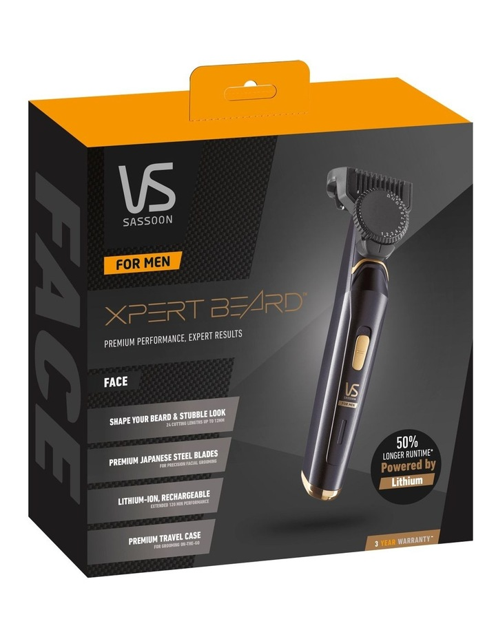 The XPERT Beard Trimmer in Blue/Gold VSM7865A image 3