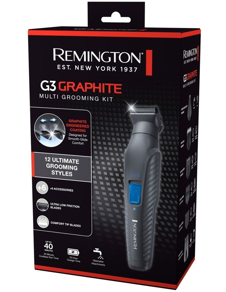 G3 Graphite Multi Grooming Kit Black PG3000AU image 7