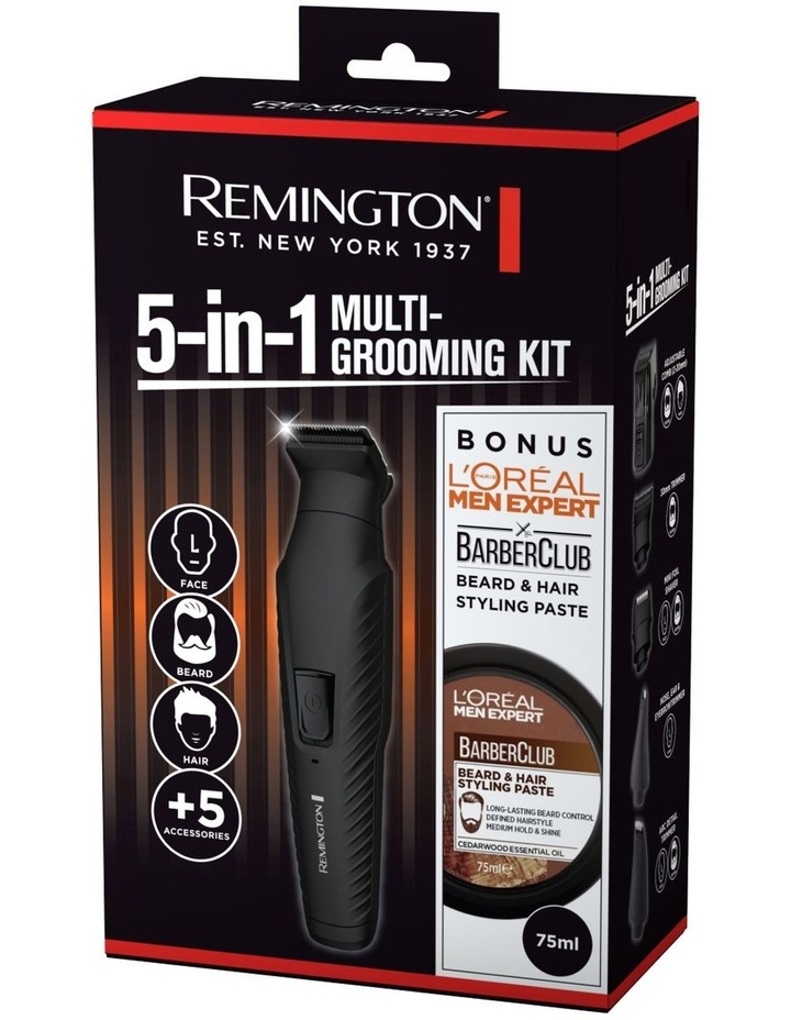 5-in-1 Multi Grooming Kit with bonus L'Oreal Beard Paste image 7