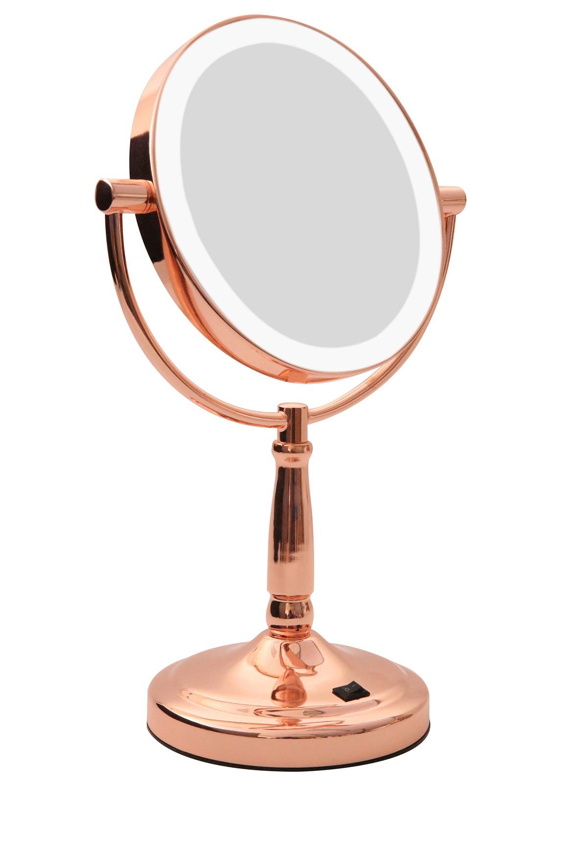Homedics   LED Vanity mirror Rose Gold   Myer Online