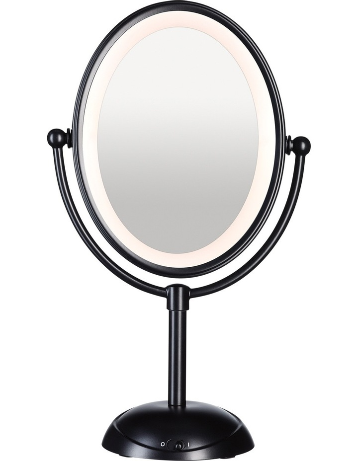 Reflections LED Lighted Mirror: Matte Black CBE51LMBA image 1