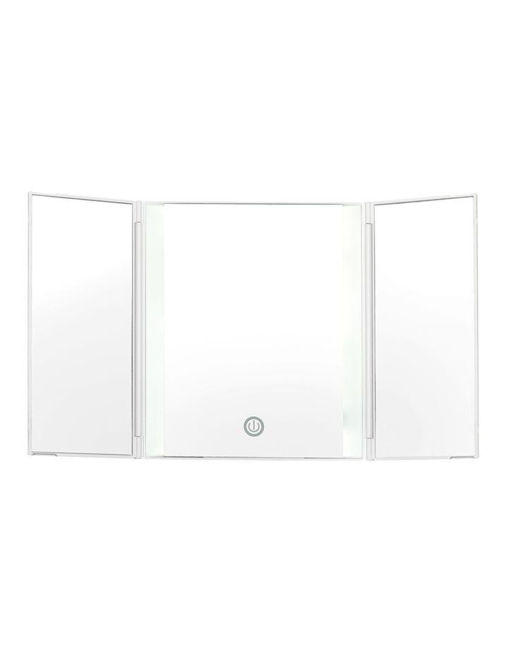 Finesse LED tri-fold beauty mirror - CBETP1A image 1