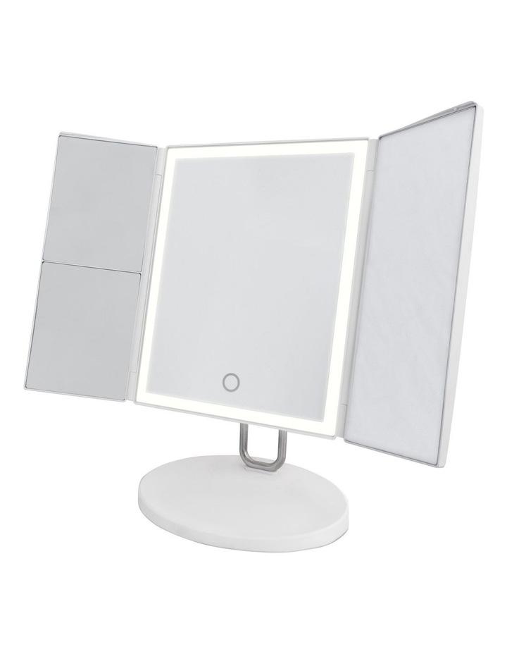 Trifold vanity mirror White MIRTF100 image 1