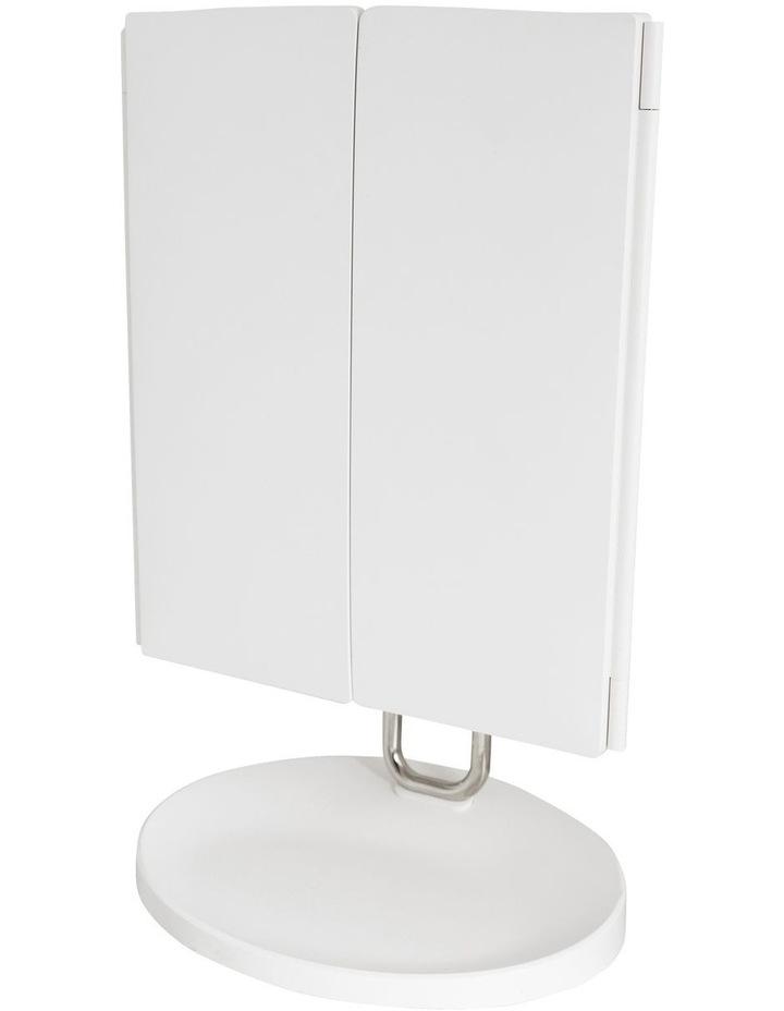 Trifold vanity mirror White MIRTF100 image 2