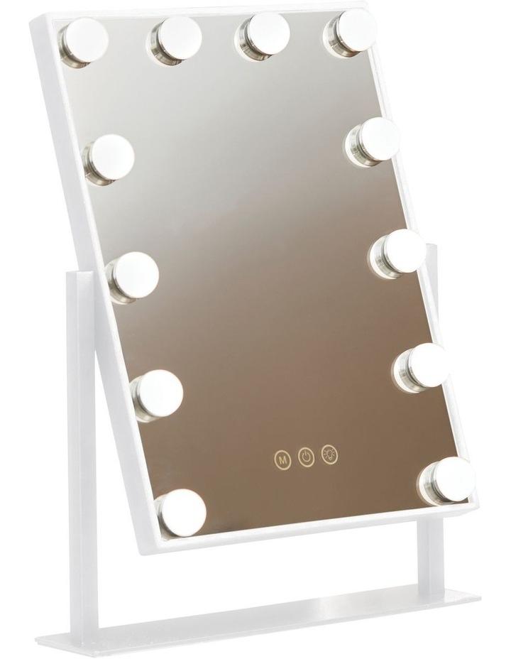 Illuminated Glamour Vanity Mirror White MIR-LB120WTG-AU image 1
