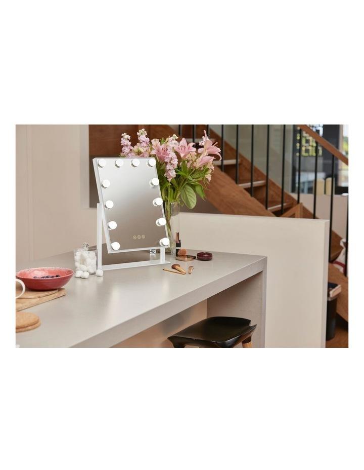 Illuminated Glamour Vanity Mirror White MIR-LB120WTG-AU image 2