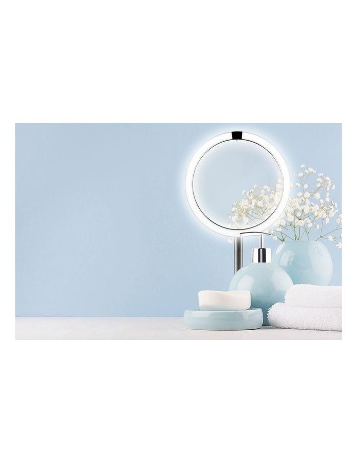 Twist Illuminated Beauty Mirror Silver MIR-SR950-AU image 6