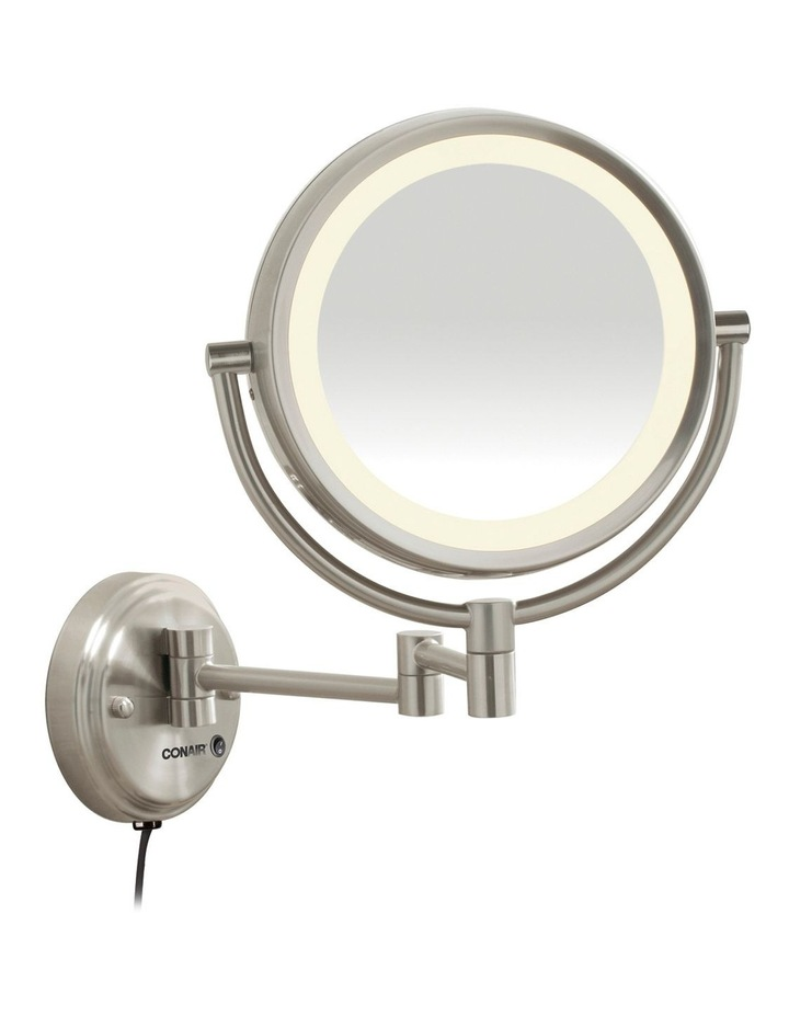LED Wall-Mounted Mirror Satin Nickel CBE6BLEDA image 1