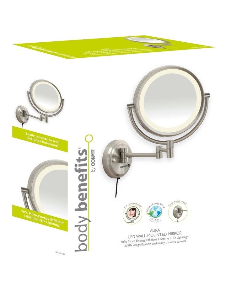 LED Wall-Mounted Mirror Satin Nickel CBE6BLEDA image 2