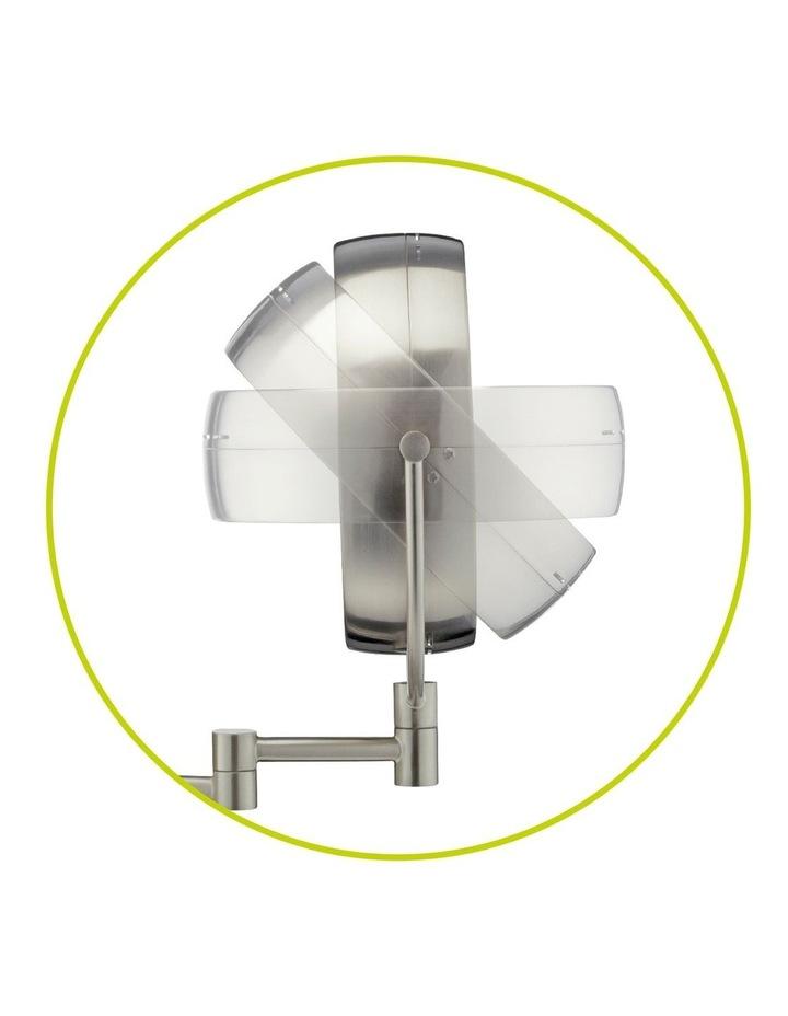 LED Wall-Mounted Mirror Satin Nickel CBE6BLEDA image 5