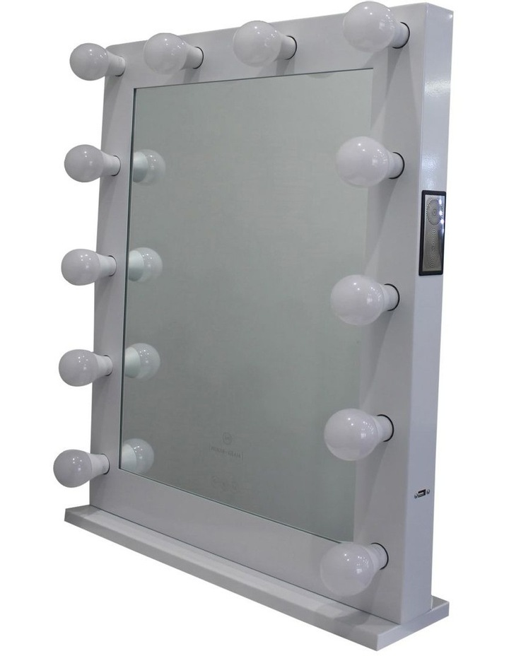 Chanelle Bluetooth Makeup Mirror White image 1