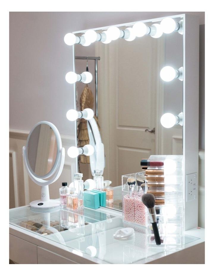 Glamster Studio Makeup Mirror White image 3