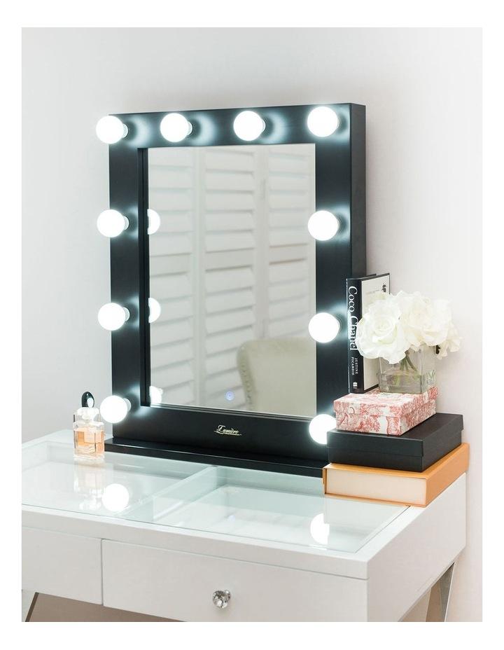 Alessandra Makeup Mirror Black image 2