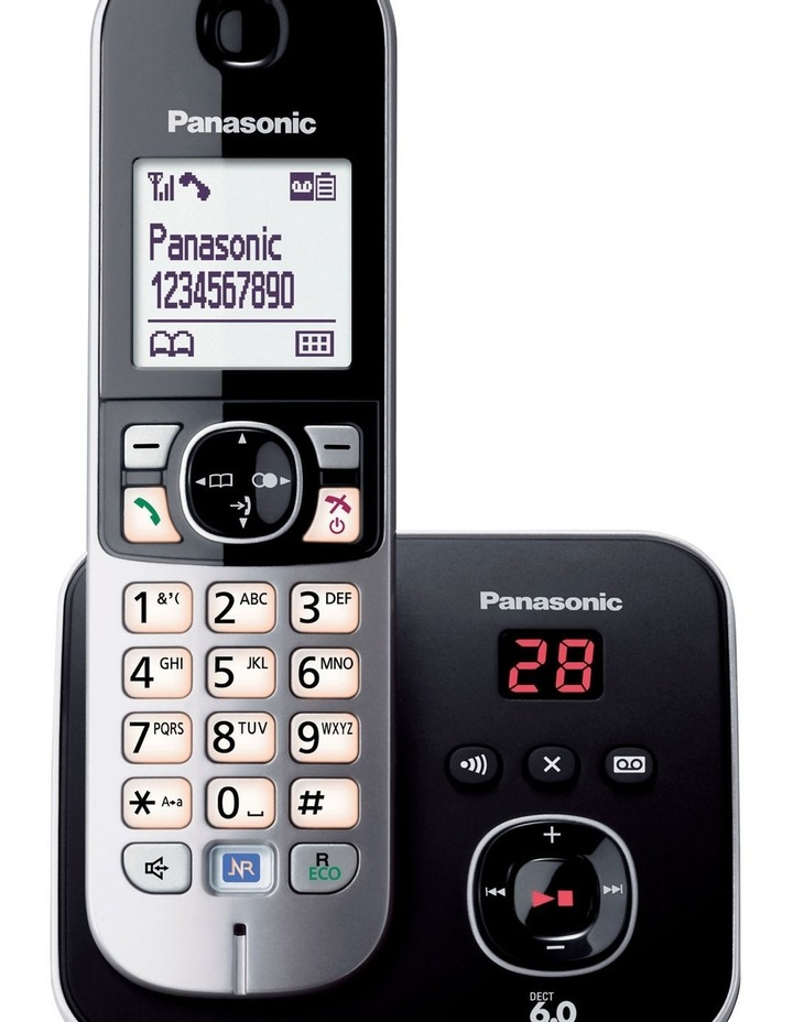Kx-Tg6821Alb Cordless Phone With Built-In Answering Machine image 2