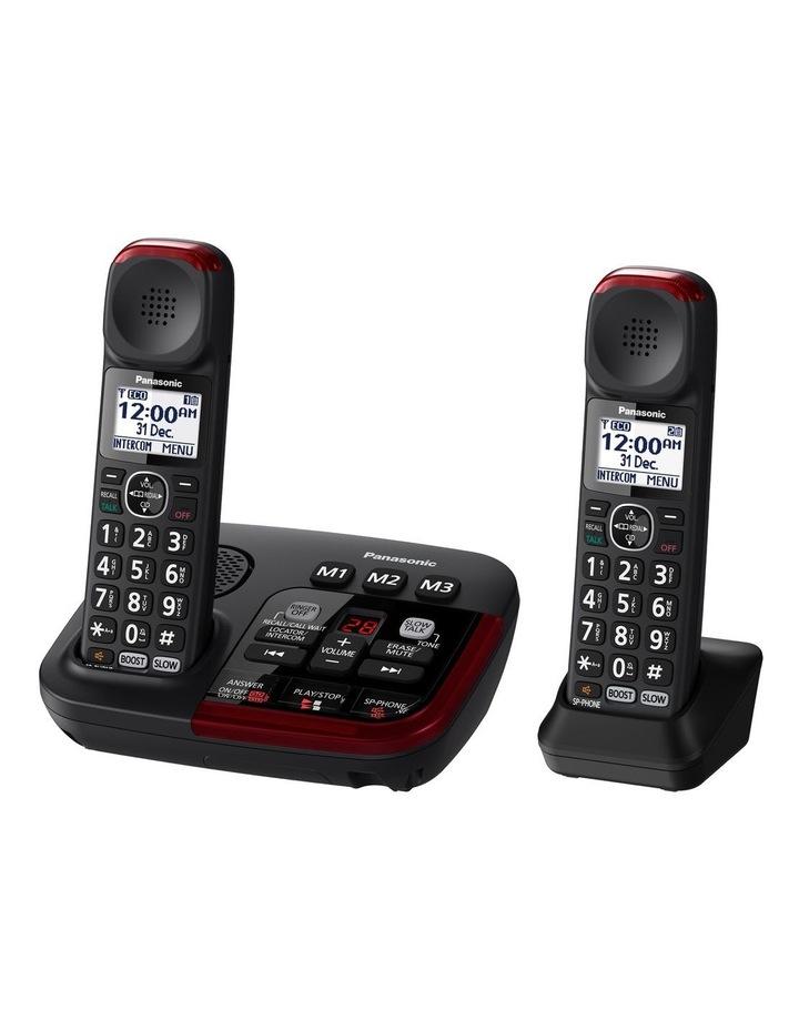 Amplified Phone Twin Handset KX-TGM422AZB image 2