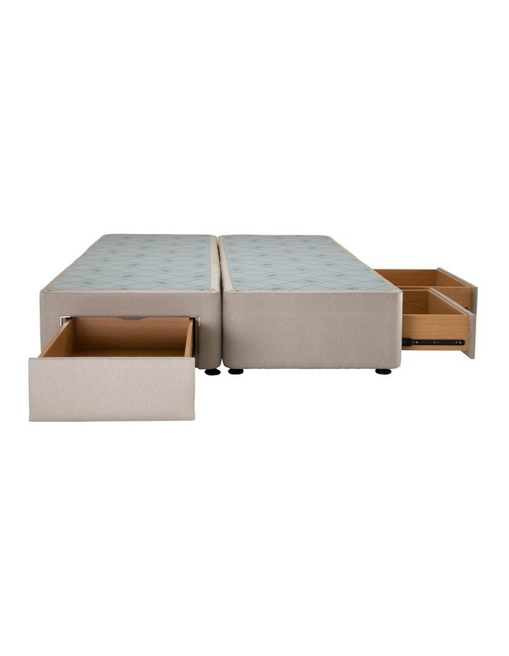 Space Saver Right Hand 2 Drawer Base Linen image 2