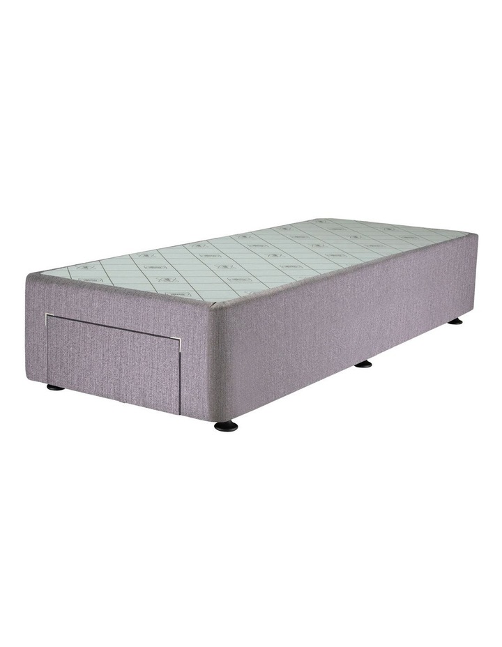 Space Saver Right Hand Two-Drawer Bed Base in Taupe image 4