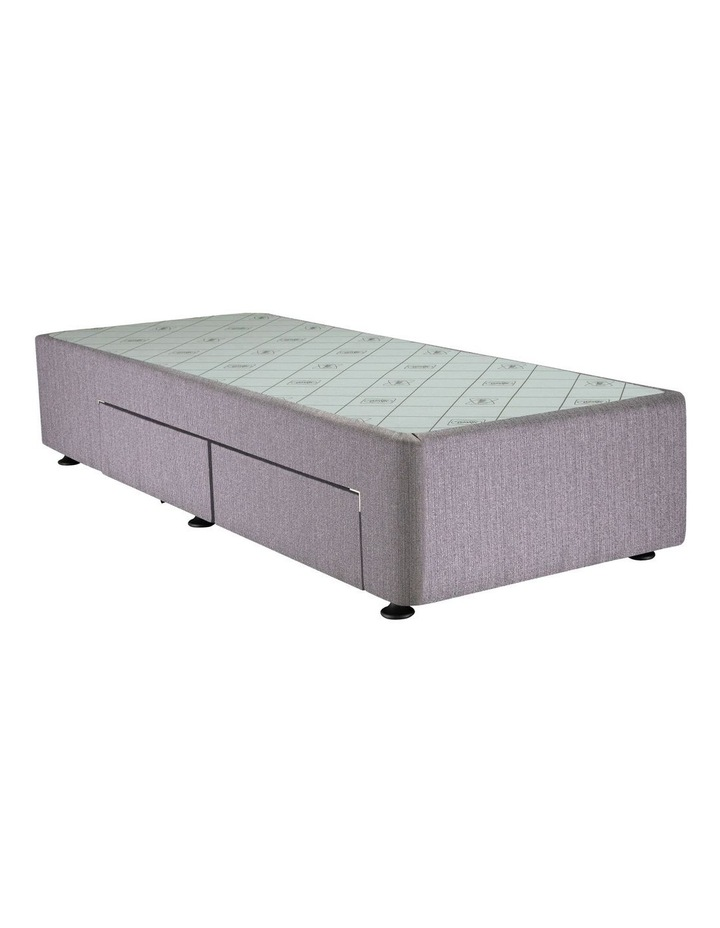 Space Saver Right Hand 2 Drawer Base Taupe image 1