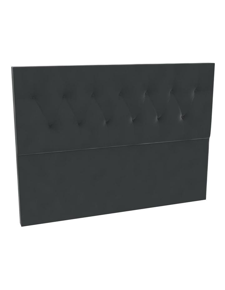 Lead Velvet Tufted Bedhead 120cm Low image 1