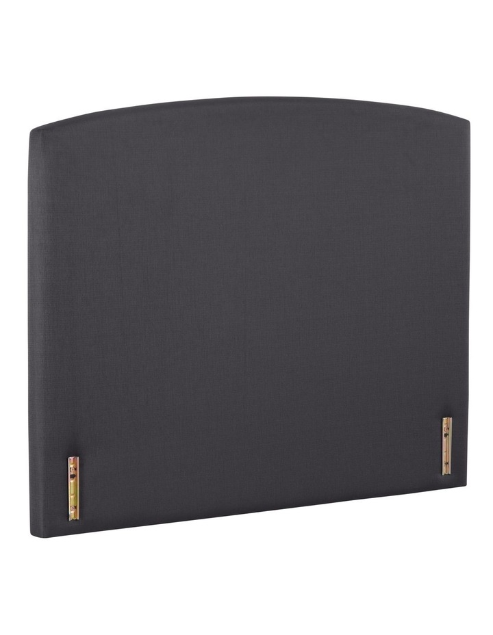 Opus Rounded Fabric Bedhead 150cm Shadow image 2