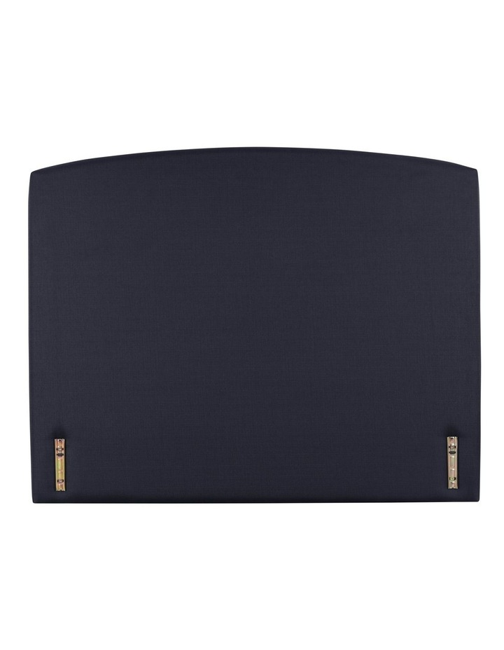 Opus Rounded Fabric Bedhead 150cm Midnight image 1