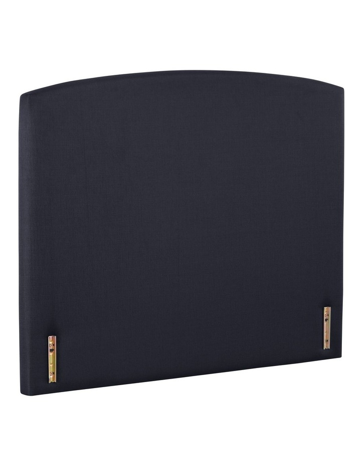 Opus Rounded Fabric Bedhead 150cm Midnight image 2