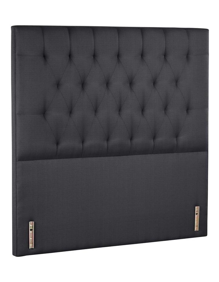 Opus Tufted Fabric Bedhead 120cm Shadow image 1