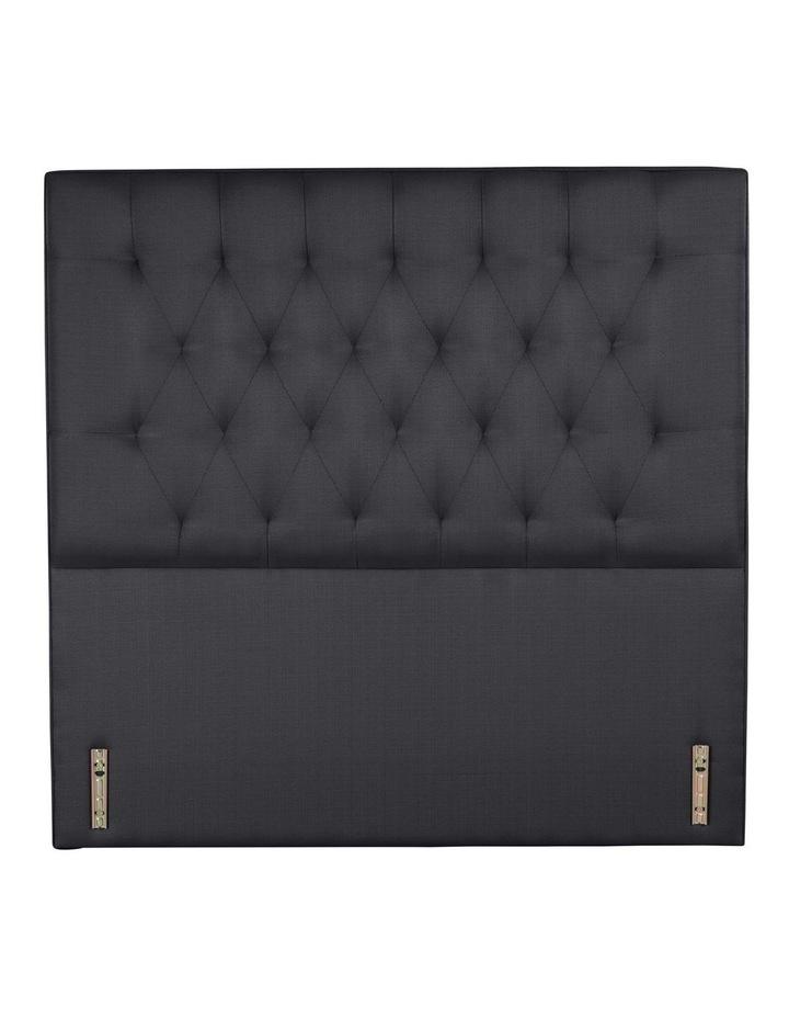 Opus Tufted Fabric Bedhead 120cm Shadow image 2