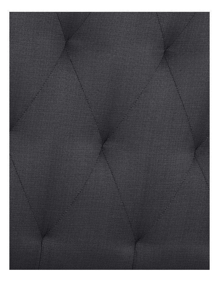 Opus Tufted Fabric Bedhead 120cm Shadow image 3