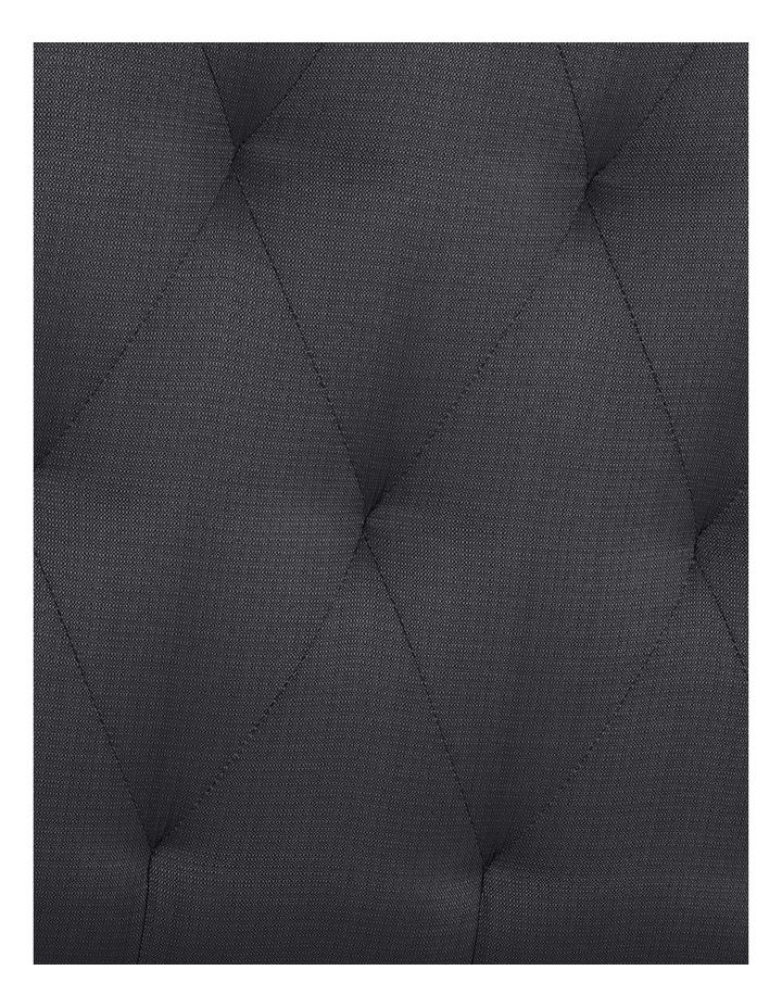 Opus Tufted Fabric Bedhead 150cm Shadow image 3