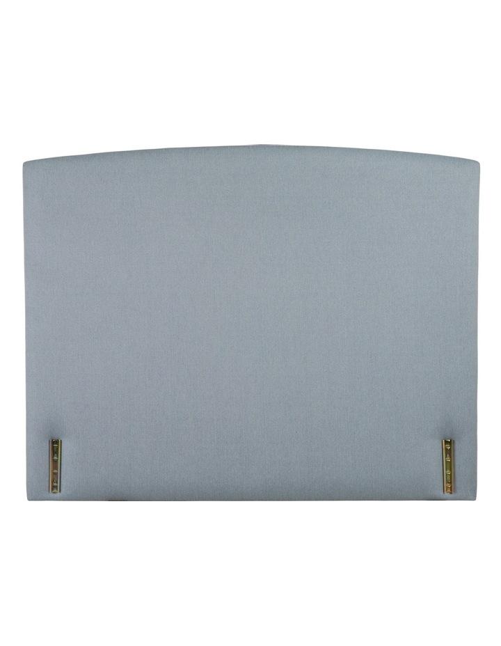 Rounded Bedhead - Seafoam Fabric image 1