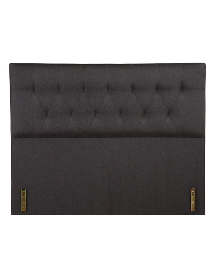 Tufted Bedhead - Asphalt Fabric image 1