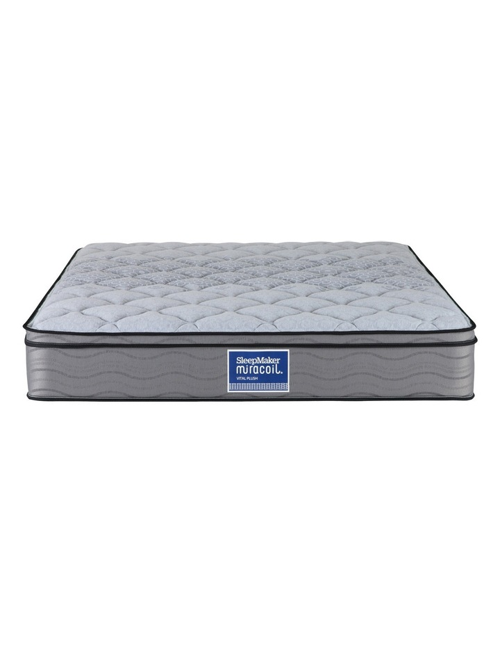 Mattress - Plush - Vital Miracoil Back Support Collection image 2