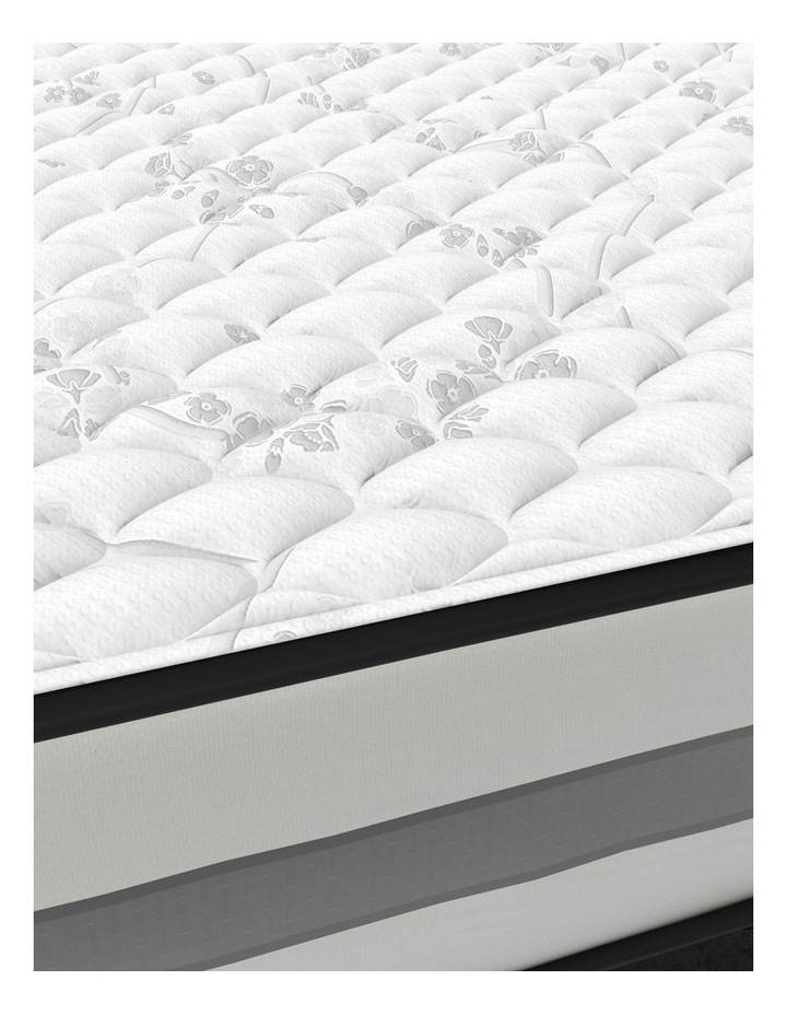 Mattress - Coolum Cushion Firm - Cocoon Black Collection image 3