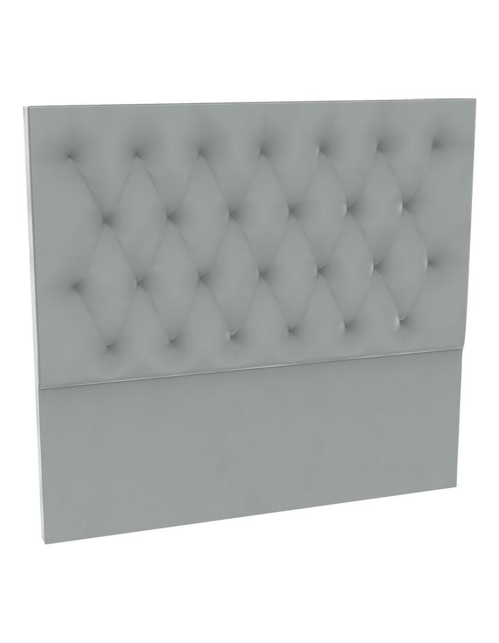 Zinc Velvet Tufted Bedhead 150cm High image 1