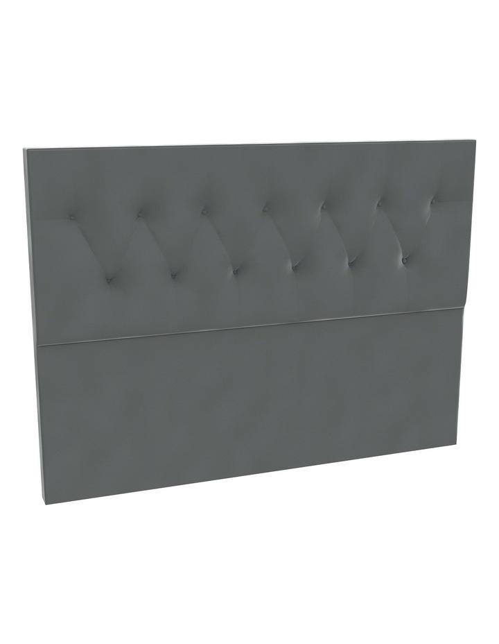 Sterling Velvet Tufted Bedhead 120cm Low image 1