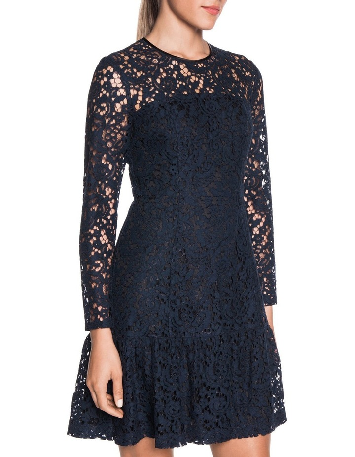 d81964a788c055 Cue   Lace Long Sleeve Dress   MYER