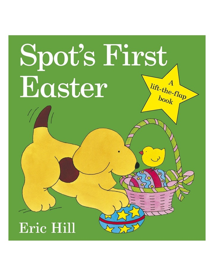 Spot's First Easter by Eric Hill (hardback) image 1
