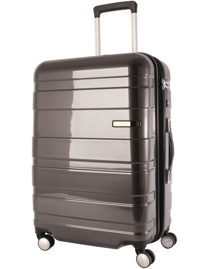 HS MV  Hardside Spinner Case Large 79cm Black/Check 4.7kg image 1