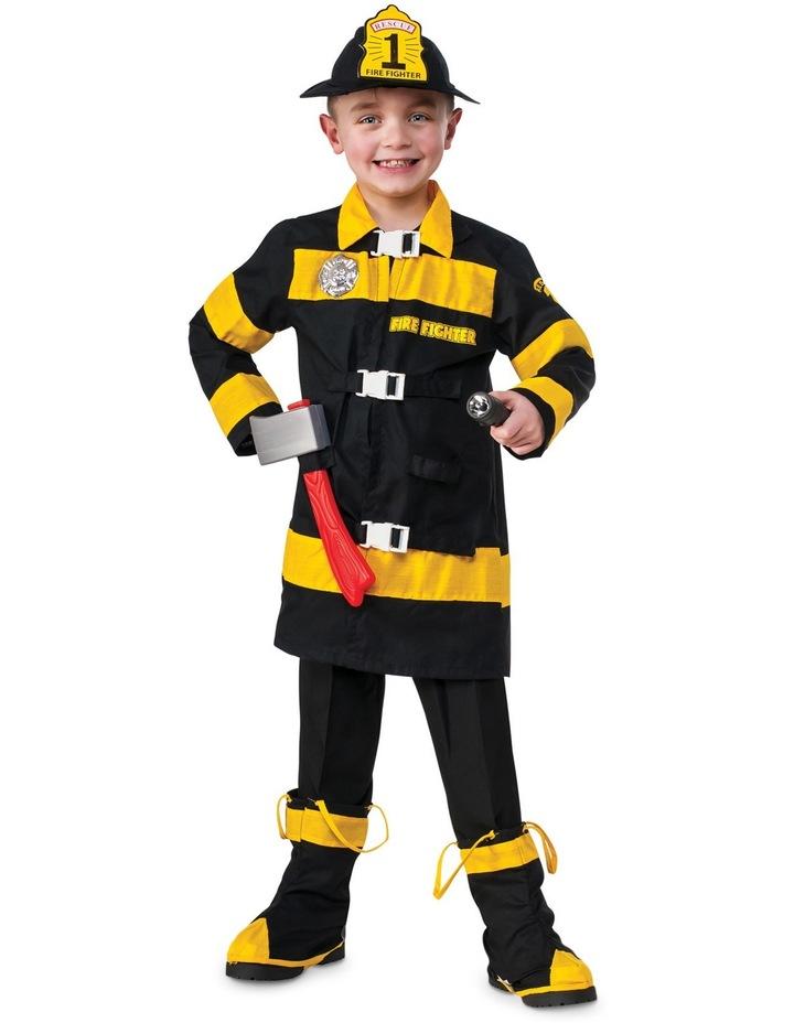 Fire Fighter Child Medium Size 5-7 image 1
