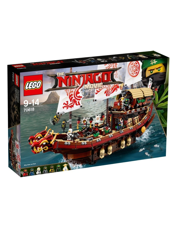 Ninjago Movie Destiny's Bounty 70618 image 1
